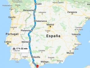 ruta Sonia cruzar Península