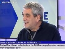 Solidarios para el Desarrollo. Trece TV. Rafael Portillo. Voluntariado con personas mayores.
