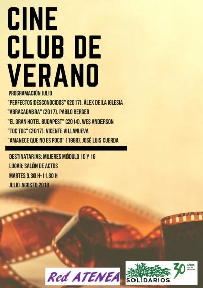 cine de verano cárcel Murcia