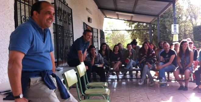 Solidario en el encuentro de Murcia
