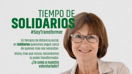 Campaña voluntariado. #SoyTransformer Tiempo de solidarios